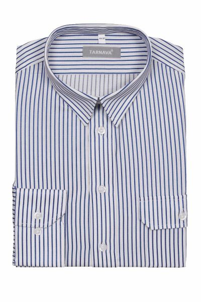 WHITE SHIRT WITH BLUE STRIPES 415349-10-1932