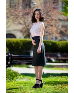 Skirt faux leather 415659-15-2634