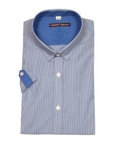 STRIPED SHIRT 415514-15-2597blue