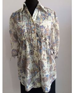 PRINTED BLOUSE 415312-10-1789