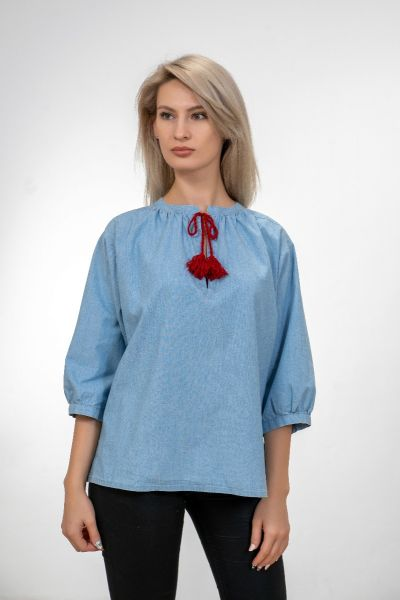 DENIM WOMEN BLOUSE
