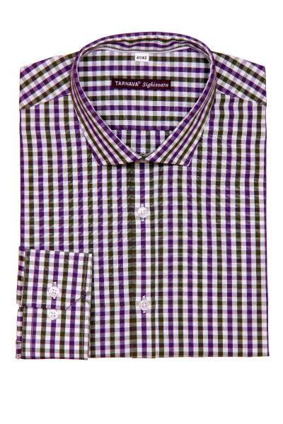 SLIM FITTED SHIRT WITH LONG SLEEVES