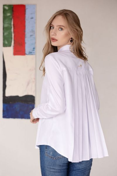 WHITE WOMEN BLOUSE