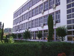 front of manufactrure building